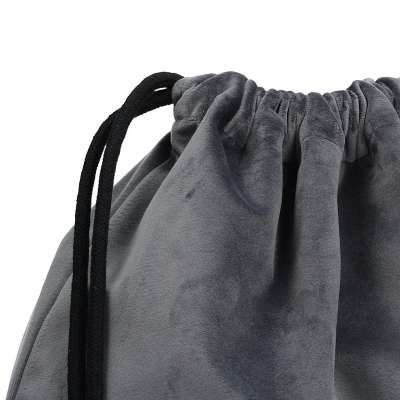 Plecak- worek Velvet 704-12 grafitowy szary Kolekcja Velvet