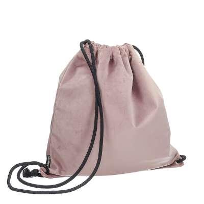 Gymtas dark grey 704-14 roze Collectie Velvet