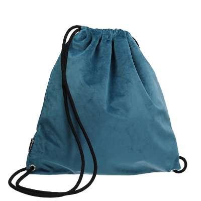 Plecak- worek Velvet 704-16 pruski błękit Kolekcja Velvet