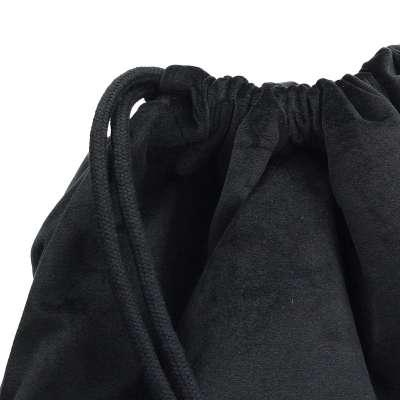 Gymtas dark grey 704-17 zwart Collectie Velvet