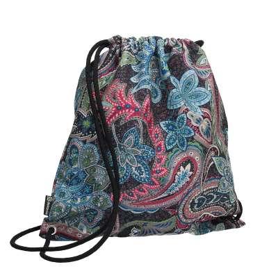 Plecak- worek Velvet 704-22 wielokolorowy paisley Kolekcja Velvet