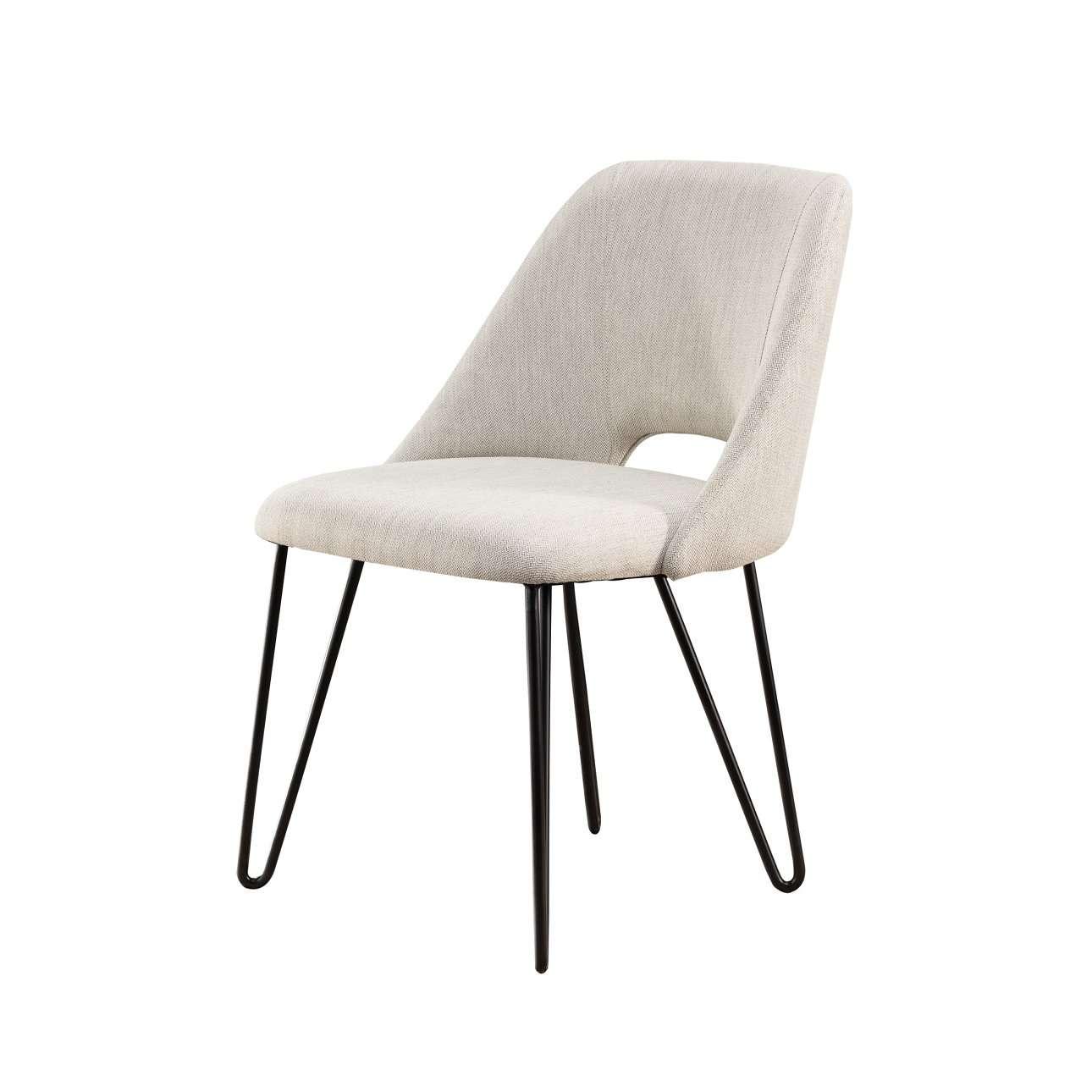 Dekoria Krzesło Evoq cream wys. 82cm