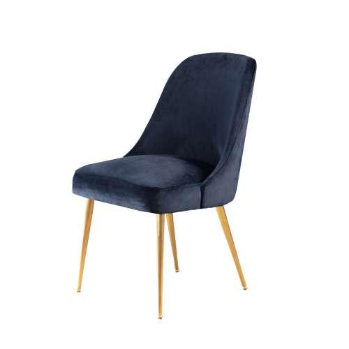Dekoria Krzesło Essence navy wys. 84cm