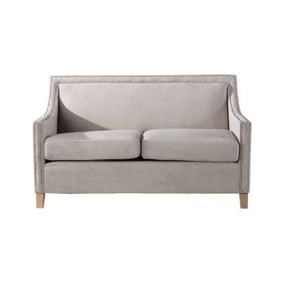 Sofa Diana silver grey 3-os.
