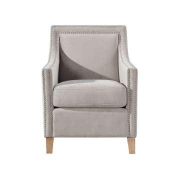 Fotel Diana silver grey
