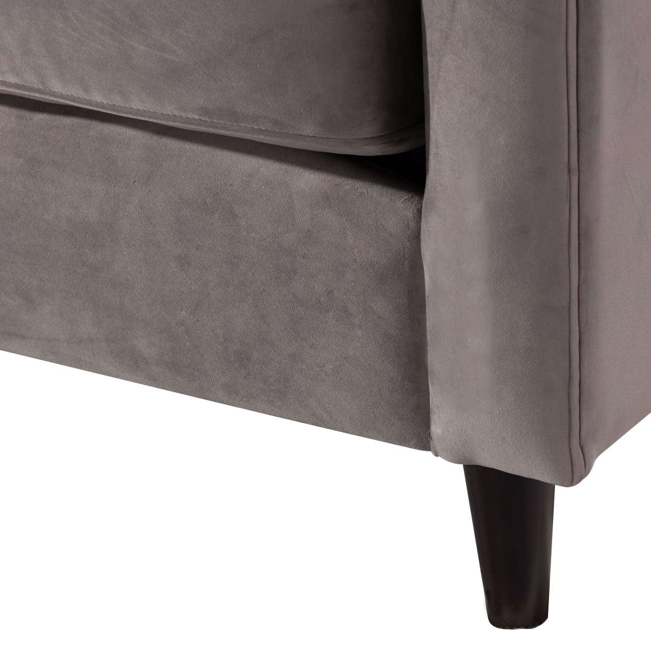 Sofa Velvet Cloud light grey 3-os.