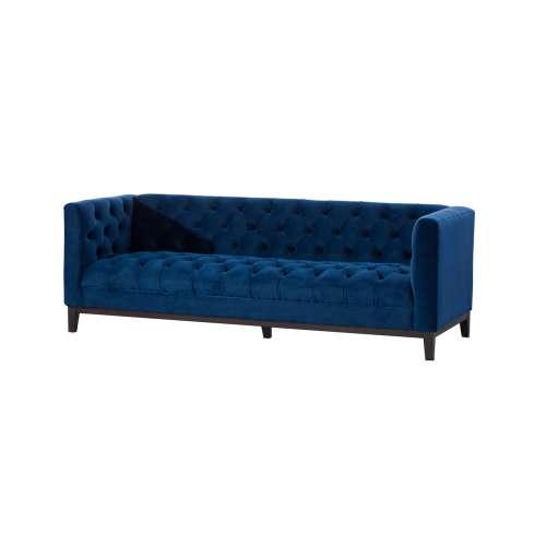 Sofa Velvet Elite indigo blue 3os.