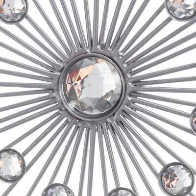 Dekoracja Space silver 48cm