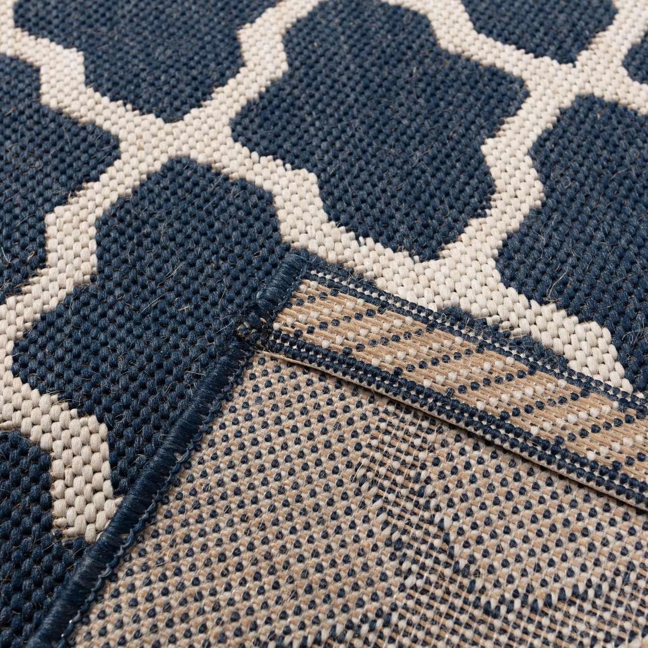 Dywan Cottage blue/wool 60x180cm