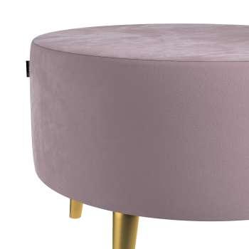 Podnóżek okrągły Velvet w kolekcji Velvet, tkanina: 704-14