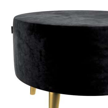 Podnóżek okrągły Velvet w kolekcji Velvet, tkanina: 704-17