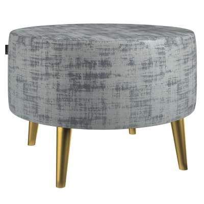 Velká podnožka Velvet průměr 60cm 704-32 šedavá beton Kolekce Velvet