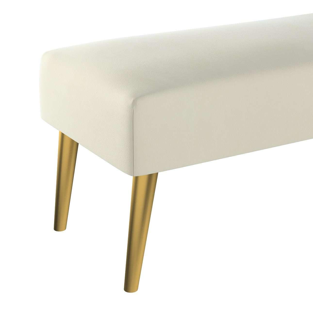 Dlouhá lavička Velvet 100x40cm volba sametových látek v kolekci Velvet, látka: 704-10