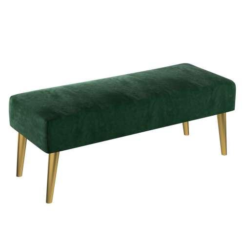 Dlouhá lavička Velvet 100x40cm
