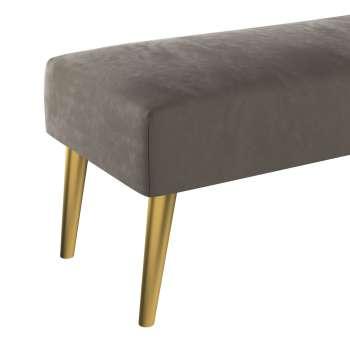 Dlouhá lavička Velvet 100x40cm volba sametových látek v kolekci Velvet, látka: 704-19