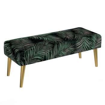 Dlouhá lavička Velvet 100x40cm volba sametových látek