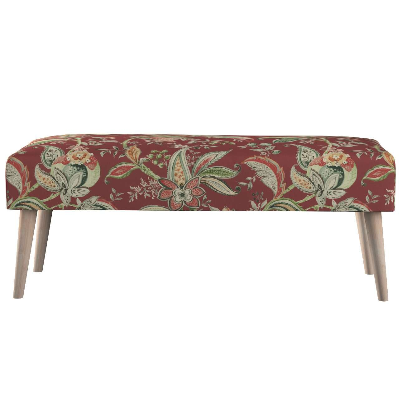 Ławka natural w kolekcji Gardenia, tkanina: 142-12