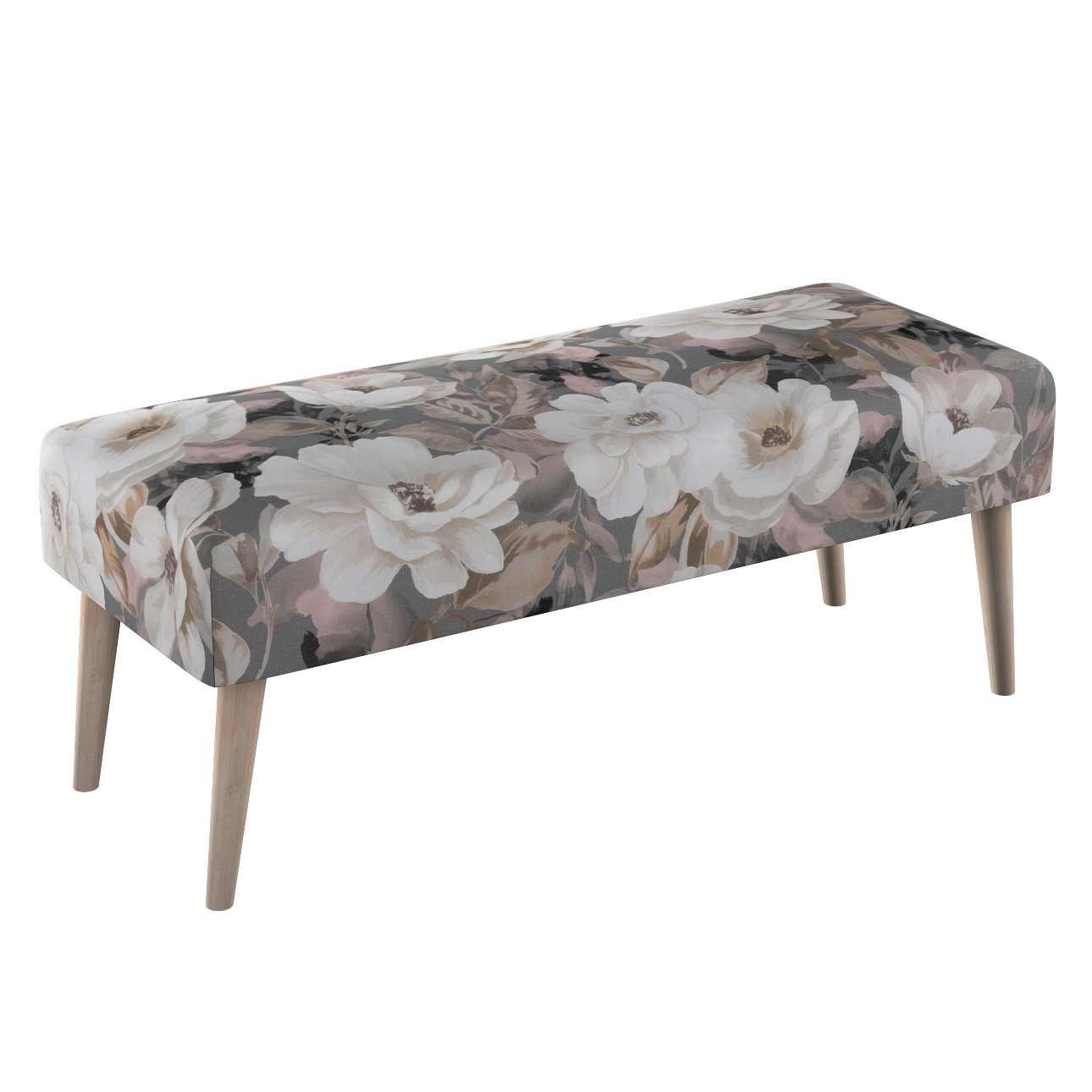 Dlouhá lavička natural 100x40cm s volbou látky