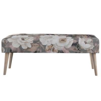 Voetenbank naturel 142-13 grijs-roze Collectie Gardenia