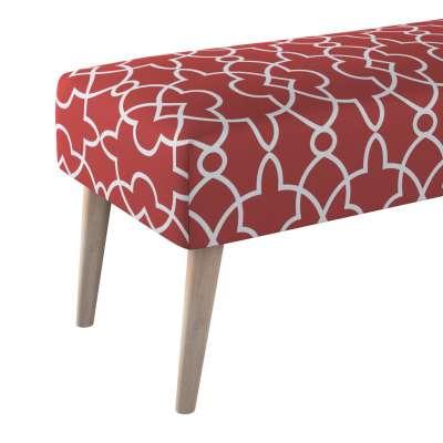 Dlouhá lavička natural 100x40cm s volbou látky v kolekci Gardenia, látka: 142-21