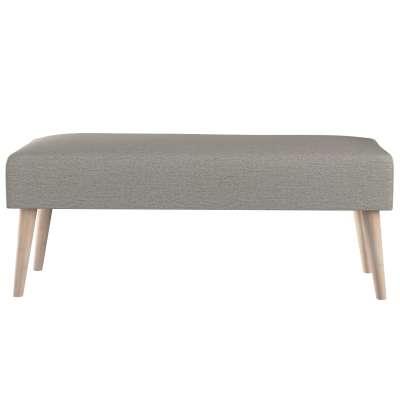 Dlouhá lavička natural 100x40cm s volbou látky 161-91 béžová melanž  Kolekce Madrid
