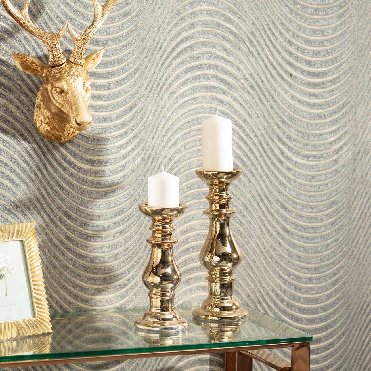 Świecznik Purse gold 33cm