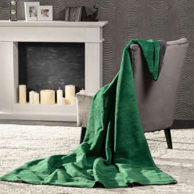 Cotton Cloud  Blanket 150x200cm Forest Blankets and Throws - Dekoria.co.uk