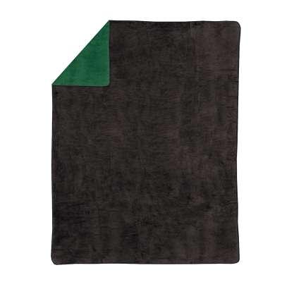 Deka Cotton Cloud 150x200 cm tmavo - zelená/grafitová