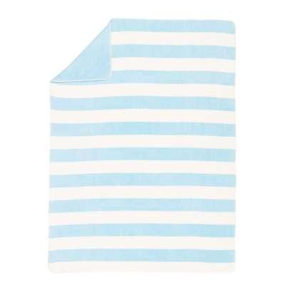 Cotton Cloud Blanket 150x200cm Ocean Blankets and Throws - Dekoria.co.uk