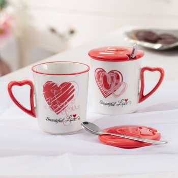 Becher-Set Beautiful Love II 350ml