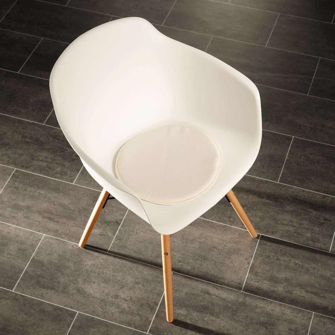 Siedzisko Dot Cream na krzesło