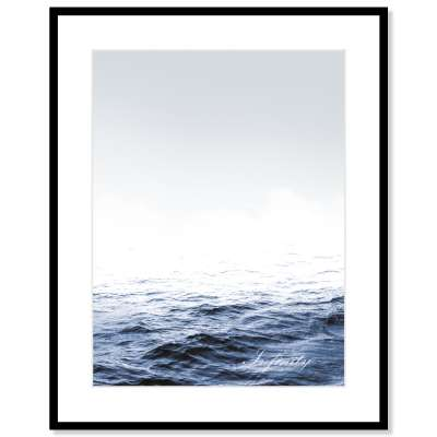 Billede med ramme Infinity 40x50cm