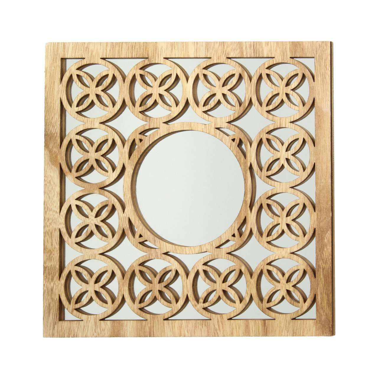 Spiegel Esmerald II 30x30cm, 30×1×30cm | Flur & Diele | Holz | Dekoria