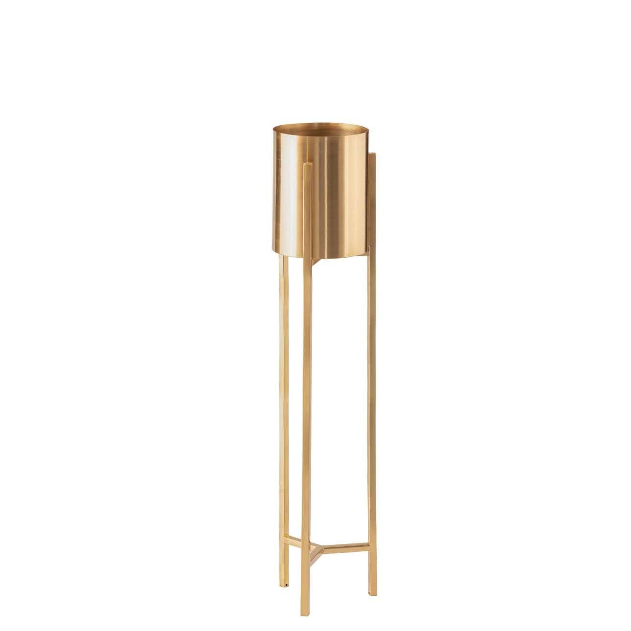 Kwietnik Maddie gold wys. 100,5cm