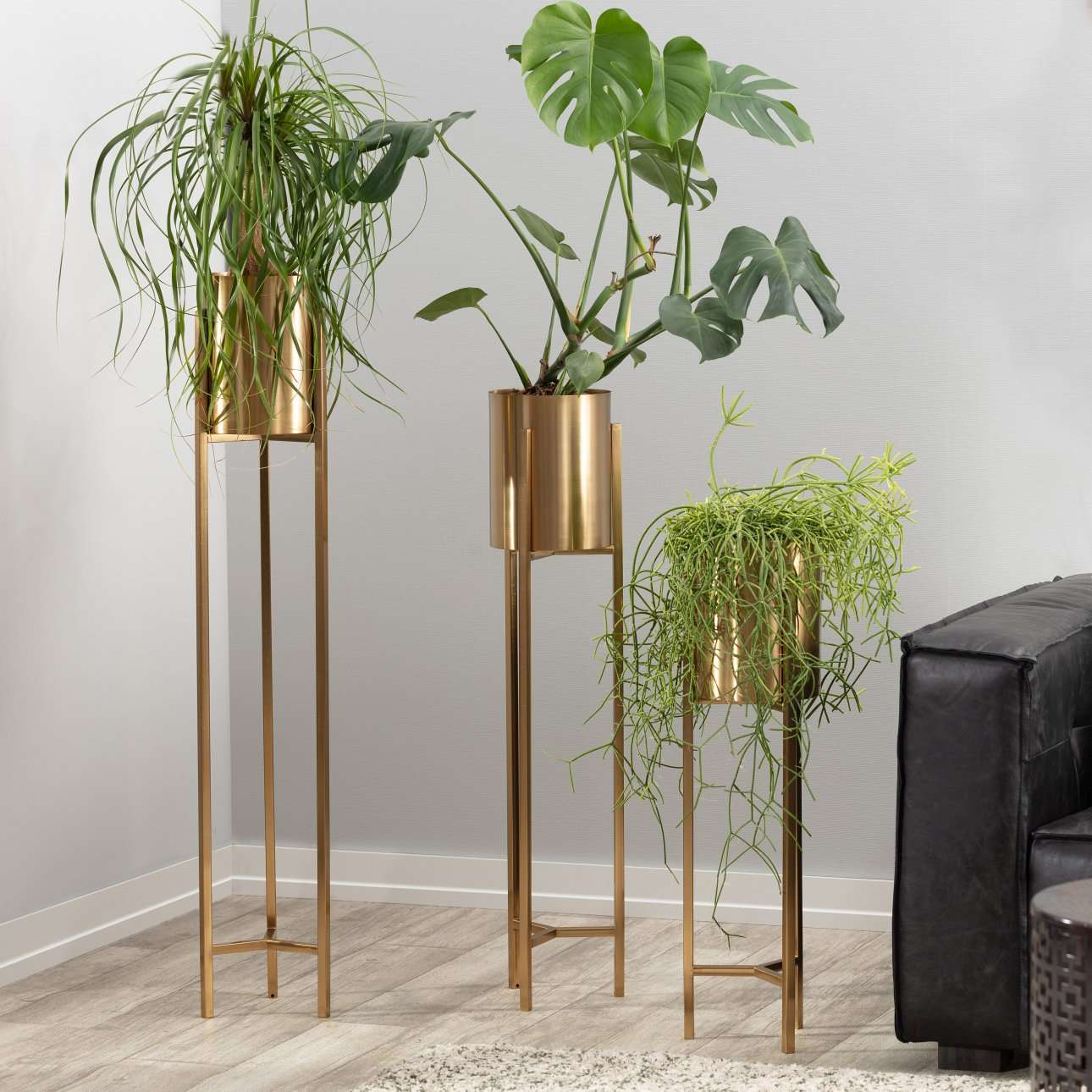 Blumenständer Maddie gold 100,5cm