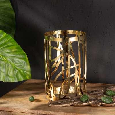 Žvakidė Cindy  gold 24,5cm Žvakidės - Dekoria.lt