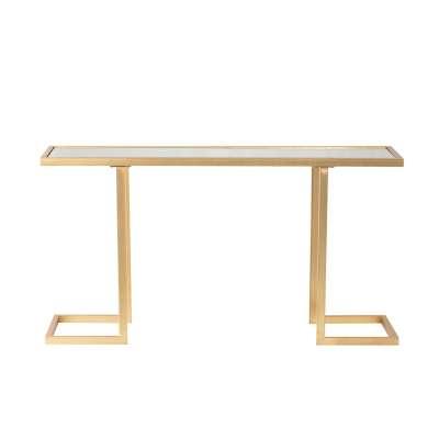 Konsole Morel 131×40×70cm Glamouröse Möbel - Dekoria.de