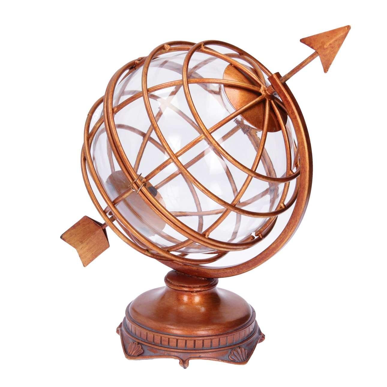 Dekorace Globus výška  34,5cm
