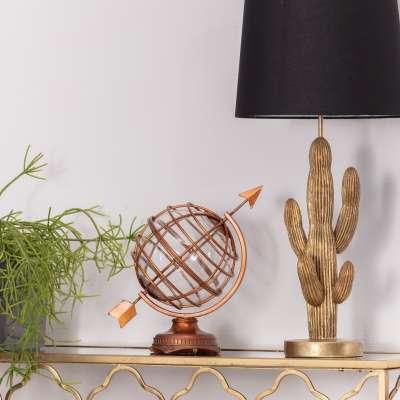 Decoratieve aardbol  34,5cm Ornamenten en beelden - Dekoria.nl