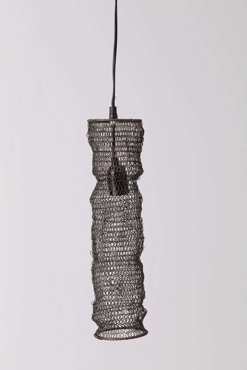 Hängelampe Wire Loft brown 43,5cm