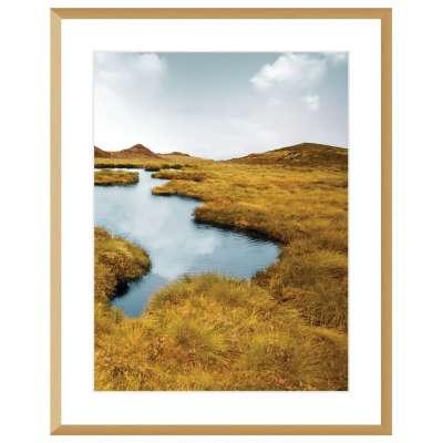 Billede med ramme Grassy Field II 40x50cm Billeder med ramme - Dekoria.dk