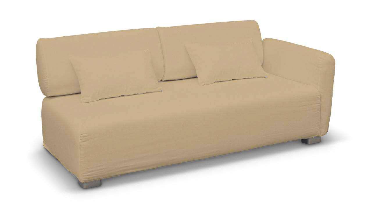 Pokrowiec na sofę 2-osobową jeden podłokietnik Mysinge w kolekcji Cotton Panama, tkanina: 702-01