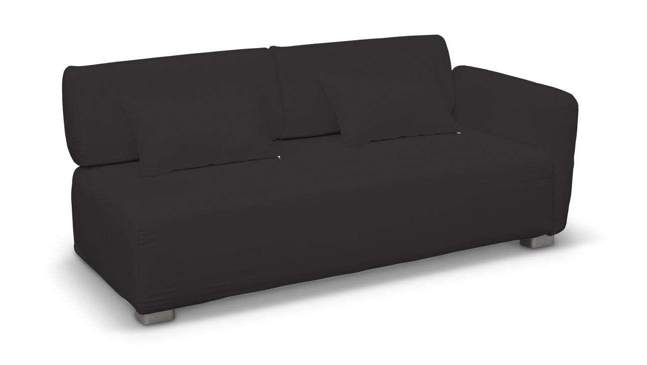 Pokrowiec na sofę 2-osobową jeden podłokietnik Mysinge w kolekcji Cotton Panama, tkanina: 702-08