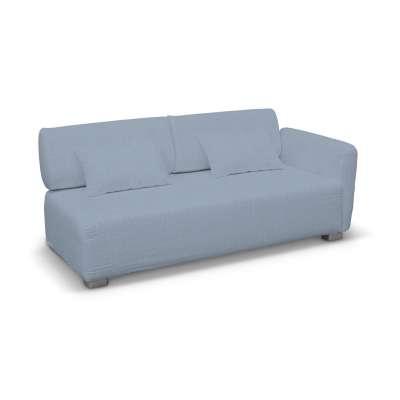 Pokrowiec na sofę 2-osobową jeden podłokietnik Mysinge w kolekcji Chenille, tkanina: 702-13