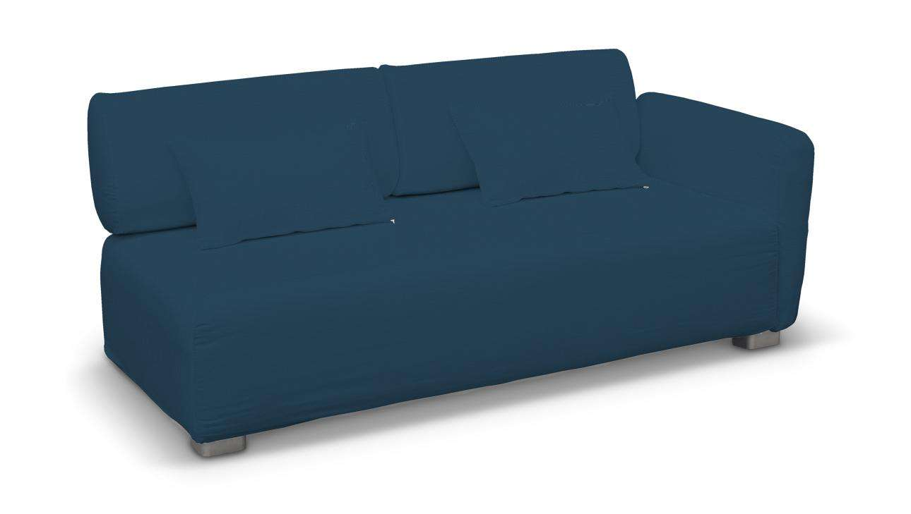 Pokrowiec na sofę 2-osobową jeden podłokietnik Mysinge w kolekcji Cotton Panama, tkanina: 702-30