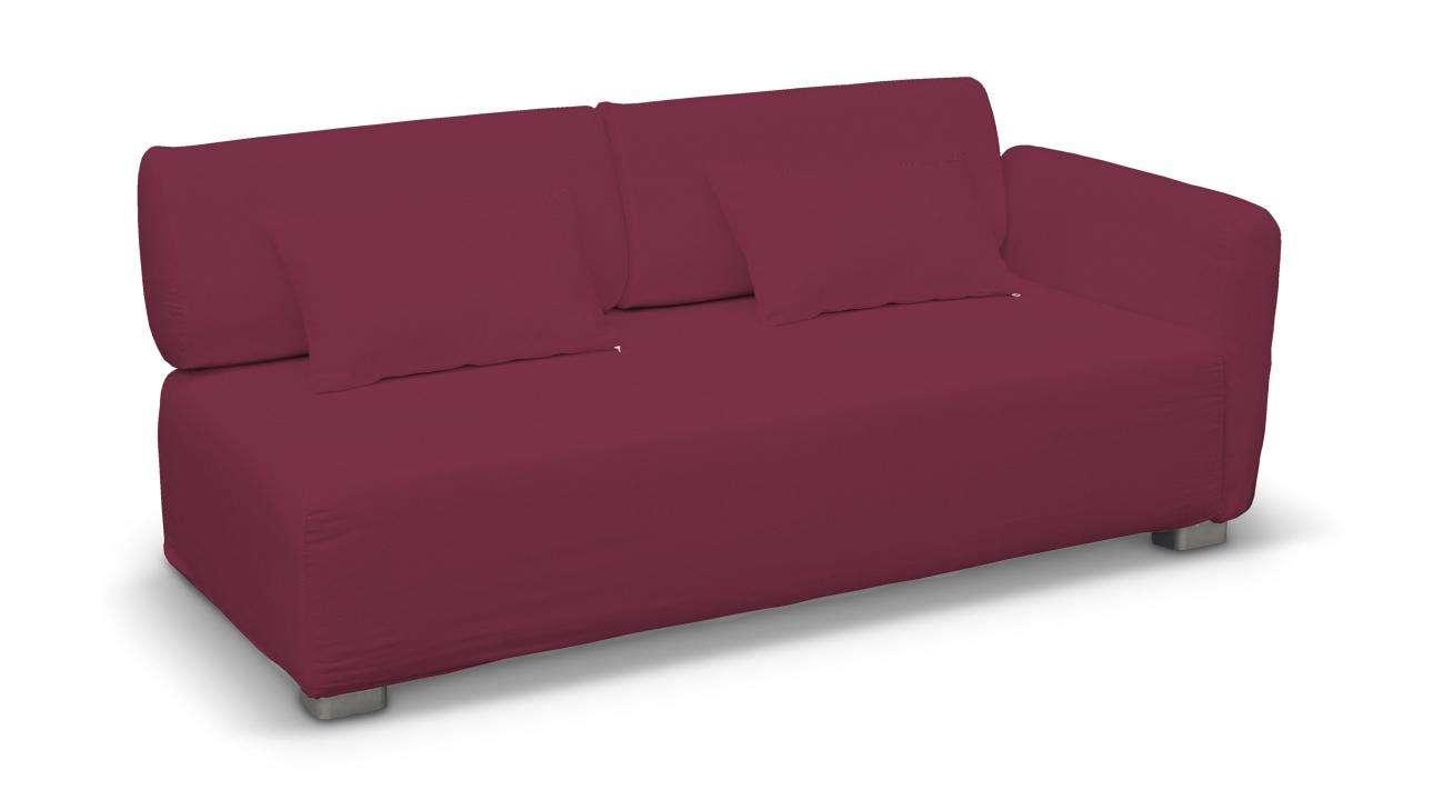 Pokrowiec na sofę 2-osobową jeden podłokietnik Mysinge w kolekcji Cotton Panama, tkanina: 702-32