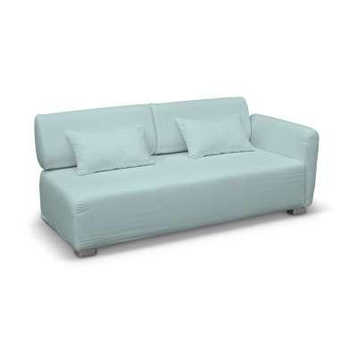Pokrowiec na sofę 2-osobową jeden podłokietnik Mysinge w kolekcji Cotton Panama, tkanina: 702-10
