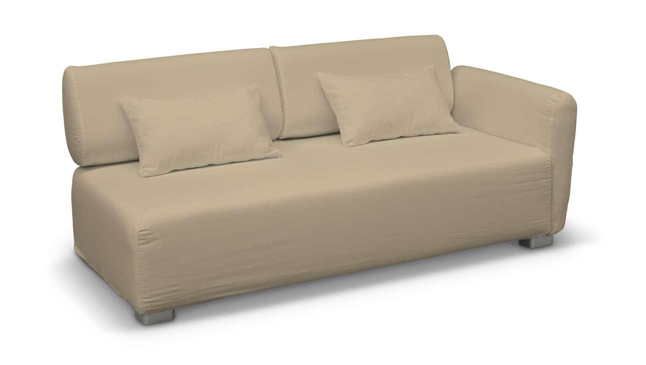 Pokrowiec na sofę 2-osobową jeden podłokietnik Mysinge w kolekcji Living, tkanina: 160-82