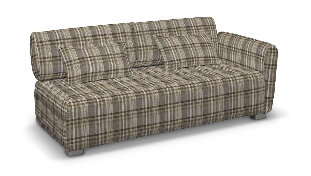 Pokrowiec na sofę 2-osobową jeden podłokietnik Mysinge w kolekcji Edinburgh, tkanina: 703-17