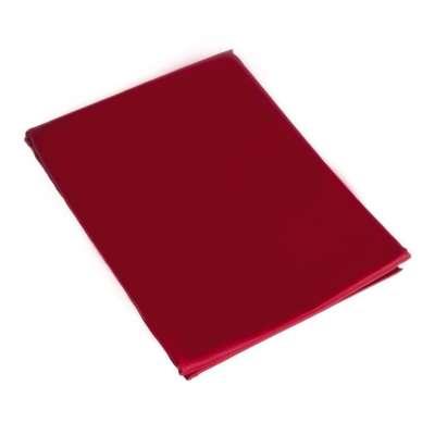 Prześcieradło satynowe proste bordo 220 × 200 cm